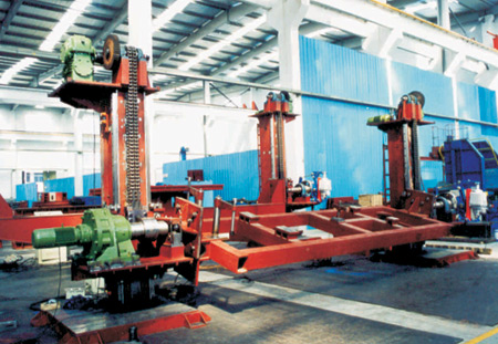车架翻转机-无锡市克罗尼克焊接设备有限公司